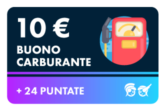 10€ Carburante +24P