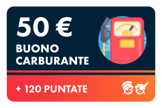50€ Carburante +120P